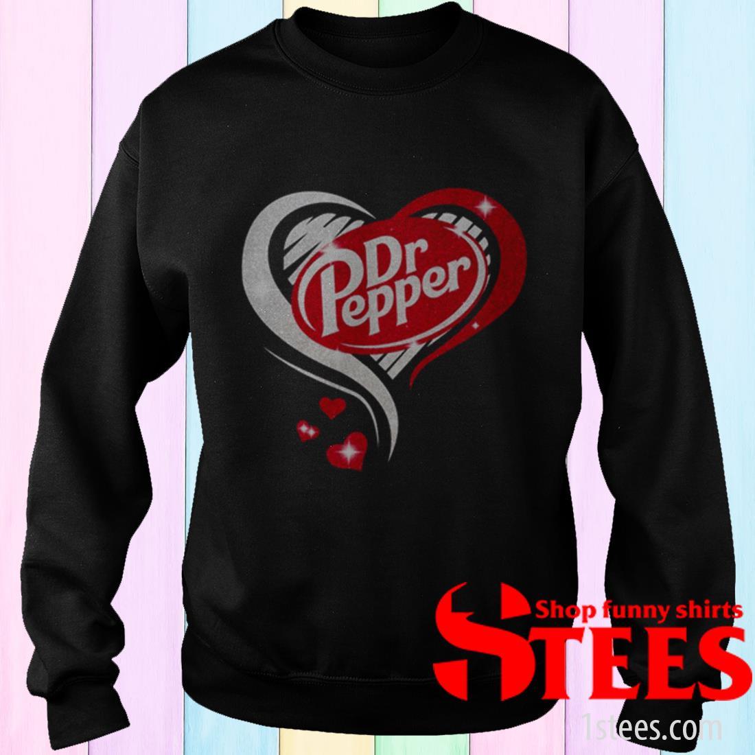 Dr Pepper Love Heart T-Shirt