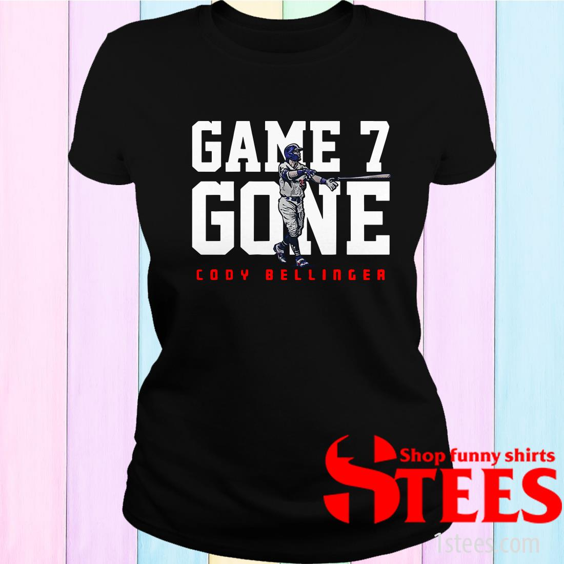 Cody Bellinger Game 7 Gone L.A.T Women's T-Shirt