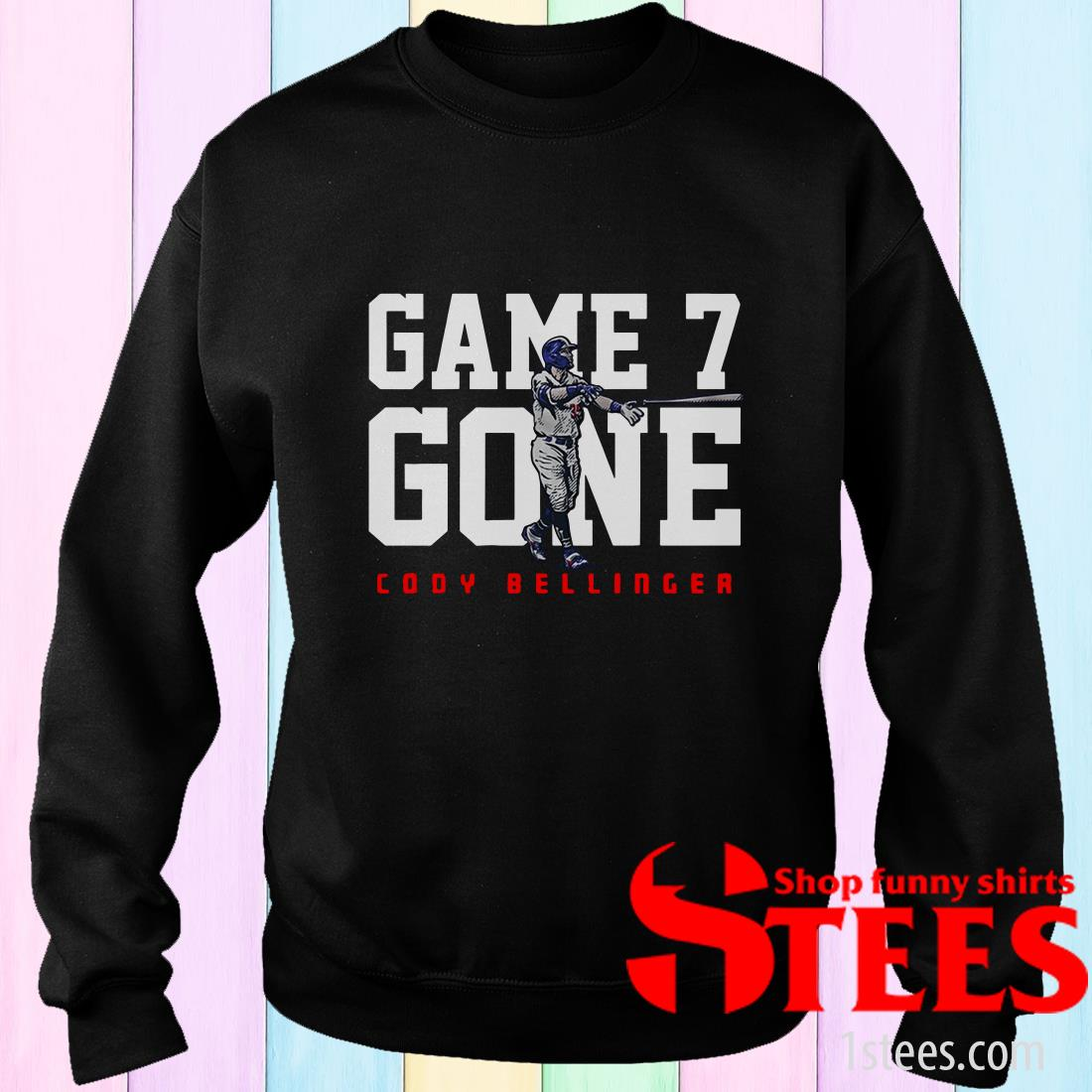 Cody Bellinger Game 7 Gone L.A.T Sweater